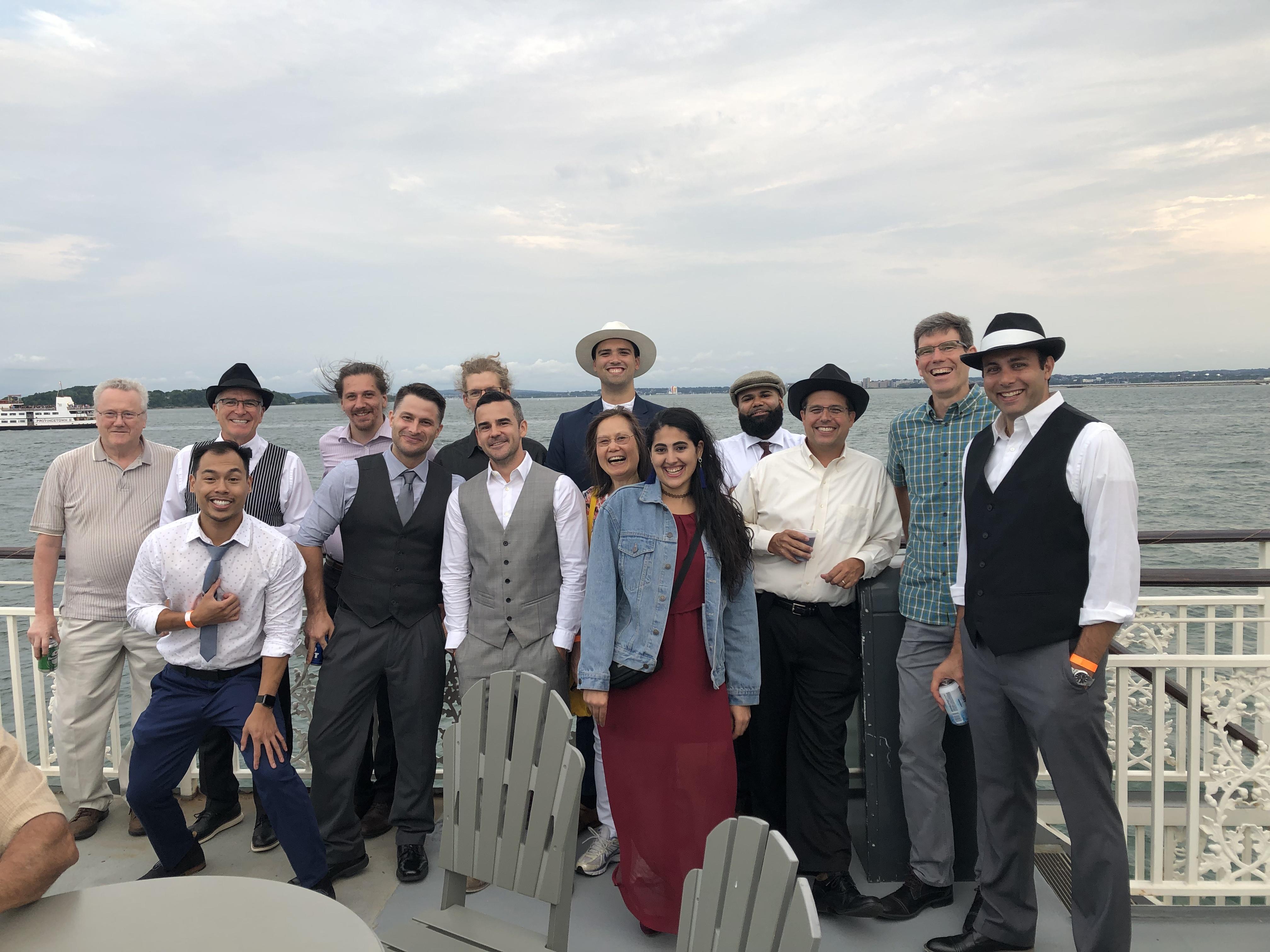 Fusion Optix DLFNE Boat Cruise 2019