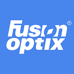 Fusion Optix Logo (white_on_blue_150x150-registered)